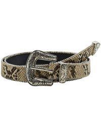 Mango - Elvis Faux Leather Belt - Lyst
