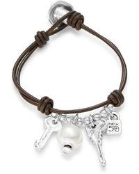 Ruby Rd. - Man Ojito Key Charm Bracelet - Lyst