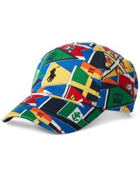 8723e98a Polo Ralph Lauren Big And Tall Reversible Tropical Bucket Hat in ...