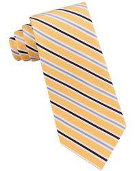 Lord & Taylor - Multistriped Silk Tie - Lyst