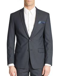 William Rast - Button Front Blazer - Lyst