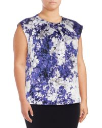 Nipon Boutique - Printed Sleeveless Top - Lyst