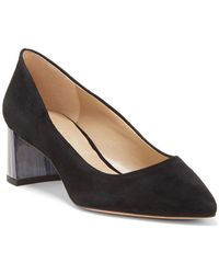 Enzo Angiolini - Dailyn Suede Pumps - Lyst
