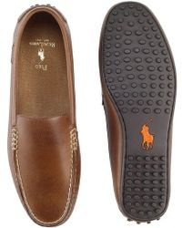 Polo Ralph Lauren - Woodley Leather Loafers - Lyst