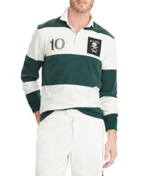 1d390a1d101 Polo Ralph Lauren - Classic-fit Cotton Rugby Shirt - Lyst