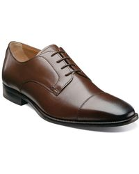 Florsheim - Sabato Leather Cap-toe Oxfords - Lyst