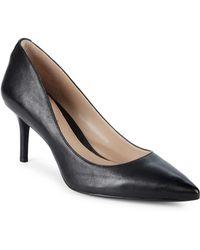 Lauren by Ralph Lauren - Lanette Leather Court Shoes - Lyst