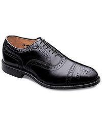 Allen Edmonds - Strand Leather Brogue Oxfords - Lyst