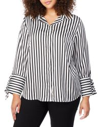 REBEL WILSON X ANGELS - Tie Sleeve Print Shirt - Lyst