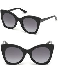 Guess - 51mm Butterfly Sunglasses - Lyst