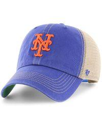 buy online 0c1fa 5b4f1 47 Brand - Trawler Clean Up Cotton Twill Baseball Cap - Lyst