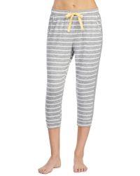Kensie - Stripe Cropped Pyjama Trousers - Lyst