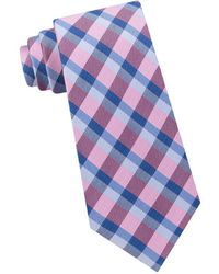 Lord & Taylor - Checked Silk Tie - Lyst