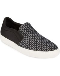 Kenneth Cole Reaction - Textured Slip-on Trainers - Lyst