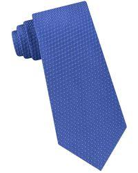 Michael Kors - Printed Silk Tie - Lyst
