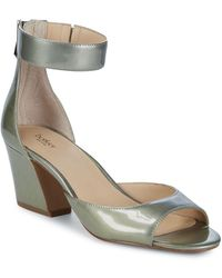 Botkier - Pilar Patent Leather D'orsay Sandals - Lyst