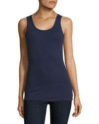 Tommy Bahama - Ribbed Tank Top - Lyst