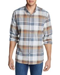 Eddie Bauer - Eddies Favorite Cotton Casual Button-down Shirt - Lyst