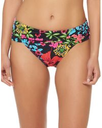 Bleu Rod Beattie - Floral Sarong Hipster Bikini Bottom - Lyst
