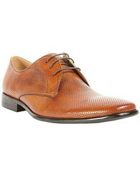 Steve Madden - Havin Perforated Leather Oxfords - Lyst