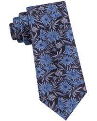 Ted Baker - Daisy Cluster Silk Tie - Lyst