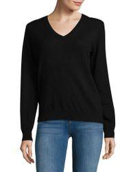 Lord & Taylor - Vintage V-neck Cashmere Sweater - Lyst