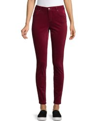 Jones New York - Madison Skinny-fit Velvet Jeans - Lyst