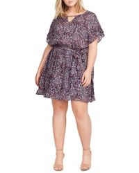 William Rast - Plus Sachi Paisley-print Dress - Lyst