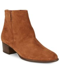 Paul Green - North Suede Booties - Lyst