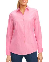 Foxcroft - Casual Button Down Shirt - Lyst