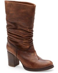Matisse - Tellit Leather Mid-calf Boots - Lyst