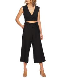 1.STATE - Cut-out Sleeveless Jumpsuit - Lyst