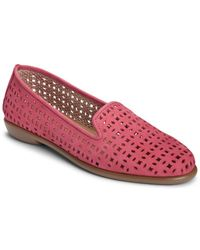 Aerosoles - Cutwork Leather Loafers - Lyst
