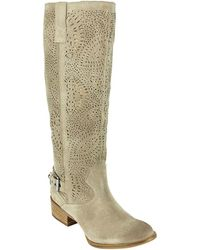 Naughty Monkey - Ziba Suede Tall Boots - Lyst