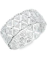 Nadri - Crystal Cuff Bracelet - Lyst