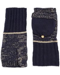 MICHAEL Michael Kors - Textured Convertible Mitten Gloves - Lyst
