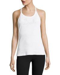Betsey Johnson - Lace Bridal Tank Top - Lyst