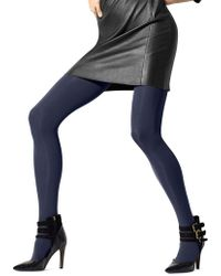 Hue - Seamless Opaque Luxe Tights - Lyst