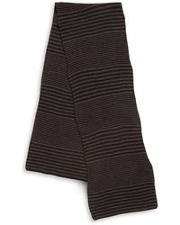 Cole Haan Double-stripe Scarf