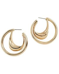 Mango - Go Hoop Earrings - Lyst