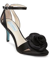 Betsey Johnson - Madi Flower Ankle Strap Dress Sandals - Lyst