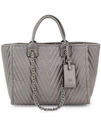 Steve Madden - Alec Quilted Tote - Lyst