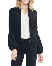 Vince Camuto - Bubble-sleeve Bomber Jacket - Lyst