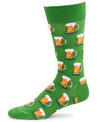 Hot Sox - Beer Mug Socks - Lyst
