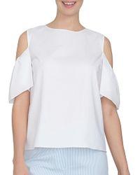 Cece by Cynthia Steffe - Spring Meadow Cotton Shirt - Lyst