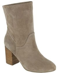 MIA - Cobain Slouch Suede Booties - Lyst