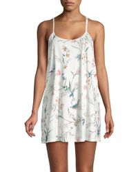 Flora Nikrooz - Classic Floral Chemise - Lyst
