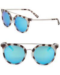 Michael Kors - 50mm Phantos Sunglasses - Lyst