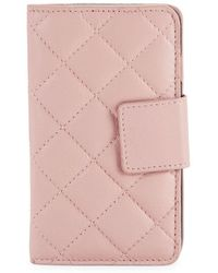 Lord & Taylor - Quilted Iphone 8 Folio Case - Lyst