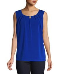 Nipon Boutique - Sleeveless Crepe Knit Top - Lyst